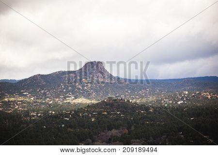 Thumb Butte In Prescott, Arizona