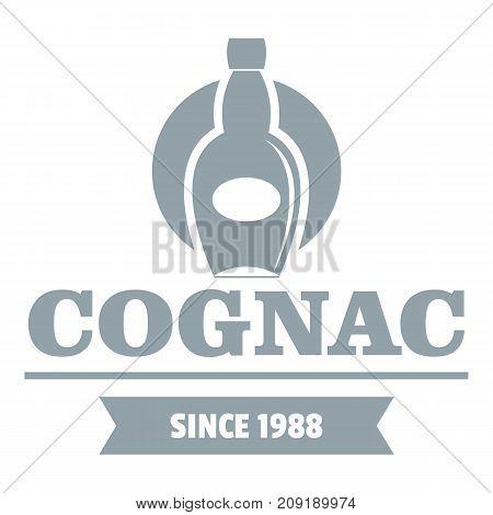 Luxury cognac logo. Simple illustration of luxury cognac vector logo for web