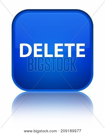 Delete Special Blue Square Button