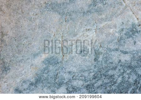 Texture of the stone surface. Blue and gray wall surface