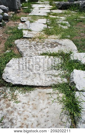 The Ignatian Way (Via Egnatia) was was a road constructed by the Romans in the 2nd century BC. The road ran along Northern Greece and Macedonia and was travelled by the Apostle Paul and his companions during the missionary journies recorded in the Bibles