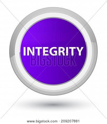Integrity Prime Purple Round Button