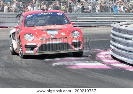 Volkswagen Beetle Driven By #41 Scott Speed