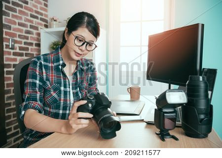 Seriously Female Business Photo Making Woman