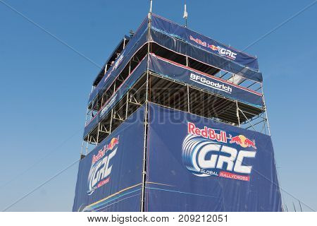 Tower Of Operations During The Red Bull Grc