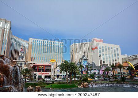Harrah's Hotel And Casino In Las Vegas.
