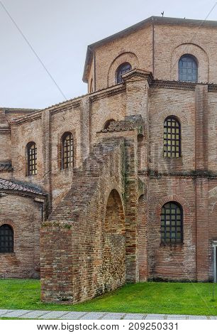 The Basilica of San Vitale is a church in Ravenna Italy and one of the most important examples of early Christian Byzantine art and architecture in western Europe.