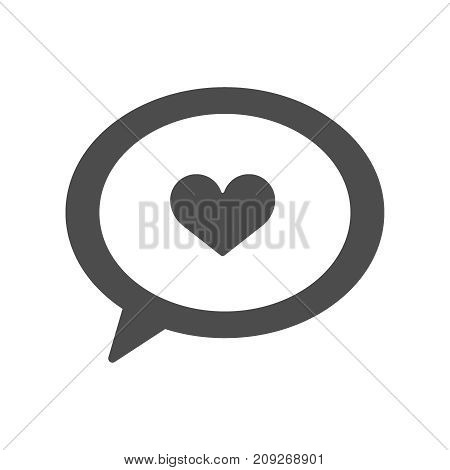 Set of Message Vector Contains such Icons as Conversation, SMS, Heart, Love Chats, Notification, Group Chat and more. Editable Stroke.