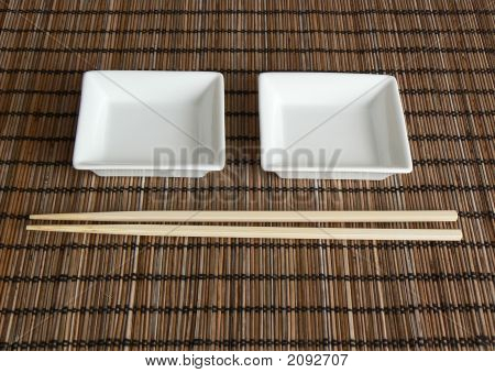 Saucers And Chopsticks