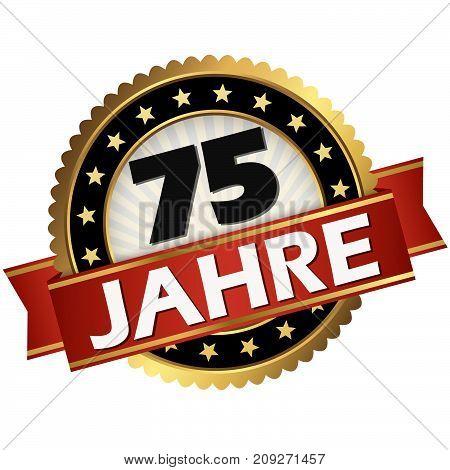 Jubilee Button 75 Years