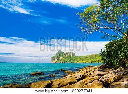 Remote Resort Caribbean Blue