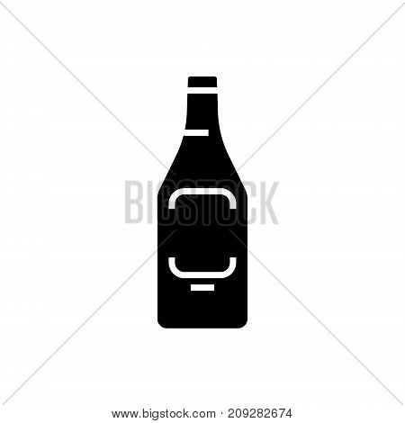 beer icon, illustration, vector sign on isolated background