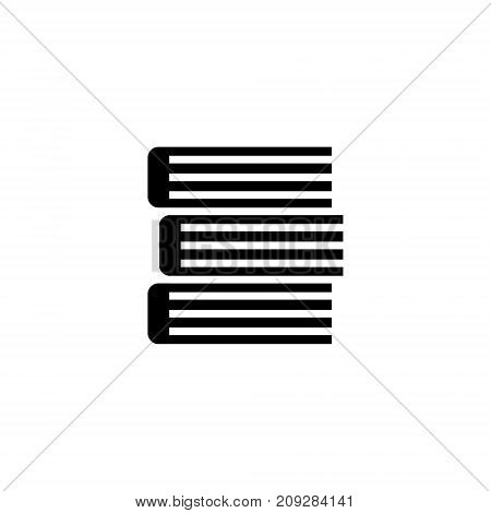 books icon, illustration, vector sign on isolated background