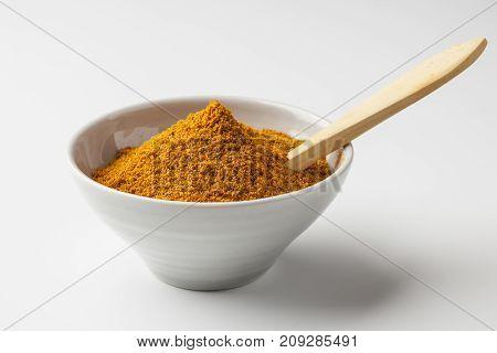 Aji amarillo powder common in Peruvian cuisine