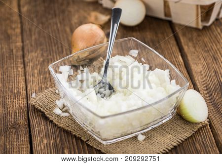 Fresh Made Diced White Onions