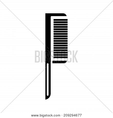 comb one icon, illustration, vector sign on isolated background