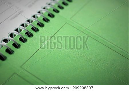 An Image of a ring book - binder