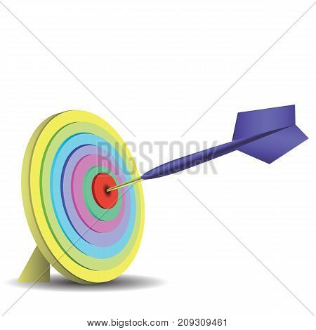 Dart game icon isolated on white background