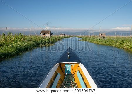 Intha floating garden agriculture in Inle lake Myanmar Inle Lake is a freshwater lake in Shan stateMyanmar