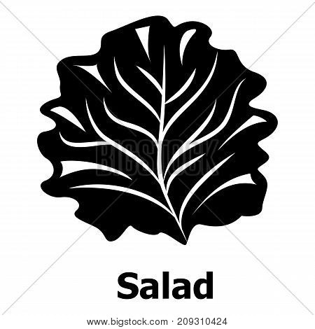 Salad icon. Simple illustration of salad vector icon for web