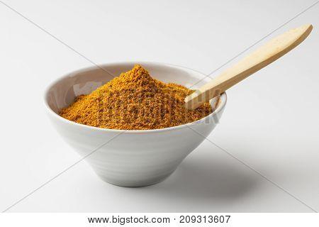 Aji amarillo chili powder common in Peruvian cuisine
