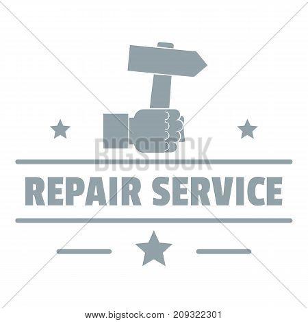 Repairman logo. Vintage illustration of repairman vector logo for web
