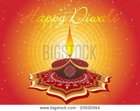 abstract artwork pattern background for diwali