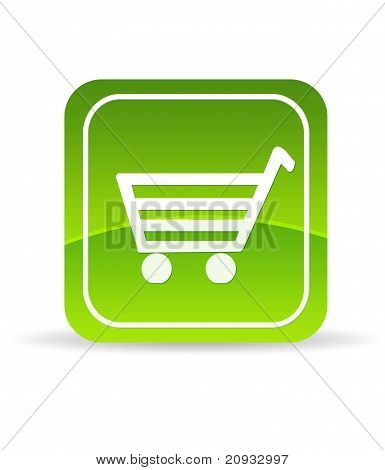 Grüne e-Commerce-Symbol