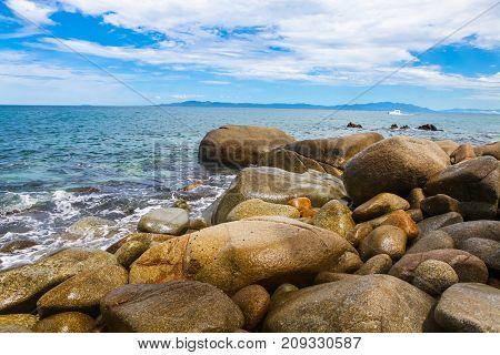 Playa Las Animas In Mexico
