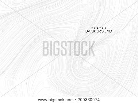 Abstract background with sketch curled lines. Vector creative illustration. Swirled diffusive pattern. Marble or hairy texture imitation. Cyclone or vortex decorative pattern
