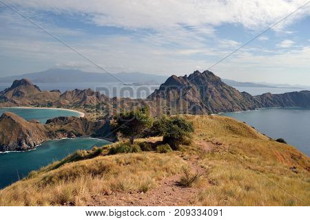 The Stunning View Of Padar Island In Indonesia, Not Far From Komodo Island