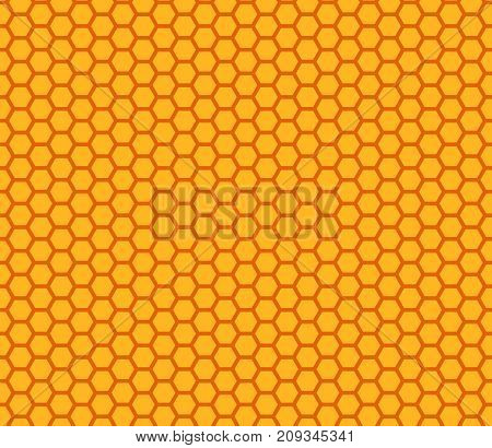 honey comb pattern seamless vector background honeycomb