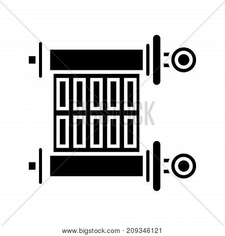scroll - torah icon, illustration, vector sign on isolated background