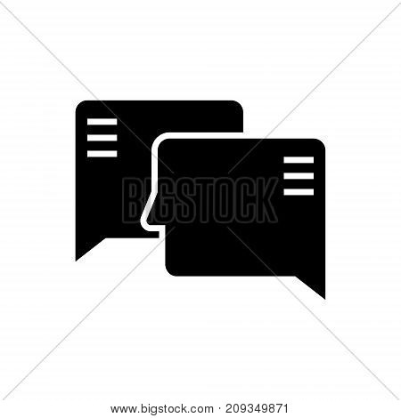 social engagement icon, illustration, vector sign on isolated background