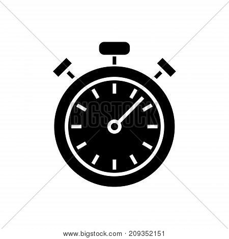 stopwatch - timer icon, illustration, vector sign on isolated background
