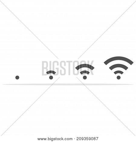 WiFi Vector Illustration. WiFi Icon flat jpg. WiFi Icon web. WiFi Icon eps object. WiFi Icon image