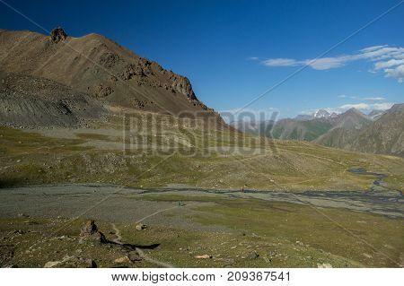 Mountains Without Vegetation Stones And Ridges