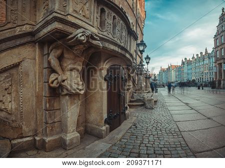 Architecture Gdansk, Old City In Europe