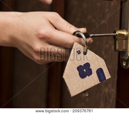 Key Door Real Estate Rent Home House Broker Buy