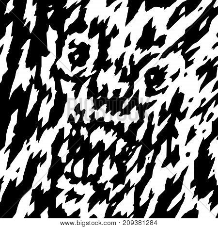 The frightening face of the demon's ghost. Vector illustration. Genre of horror. Scary character head for halloween.