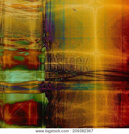 Vintage antique textured background. With different color patterns