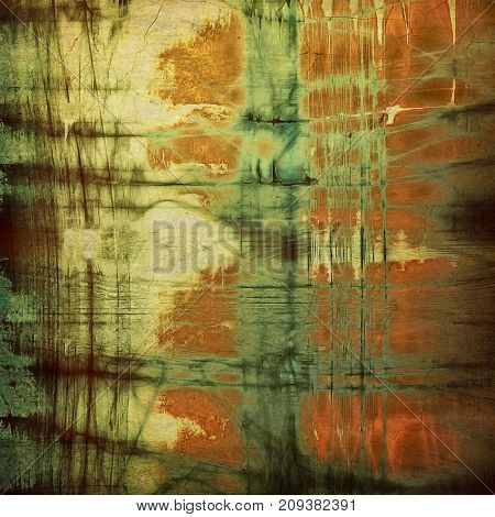 Retro background with grunge texture. With different color patterns