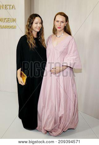 Jenni Kayne and Saree Kayne at the Hammer Museum Gala In The Garden held at the Hammer Museum in Westwood, USA on October 14, 2017.