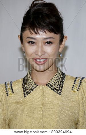 Yu Yamada at the Hammer Museum Gala In The Garden held at the Hammer Museum in Westwood, USA on October 14, 2017.