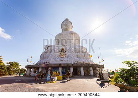 Temple Of The Great Buddha, Phuket, Thailand, May 8, 2017