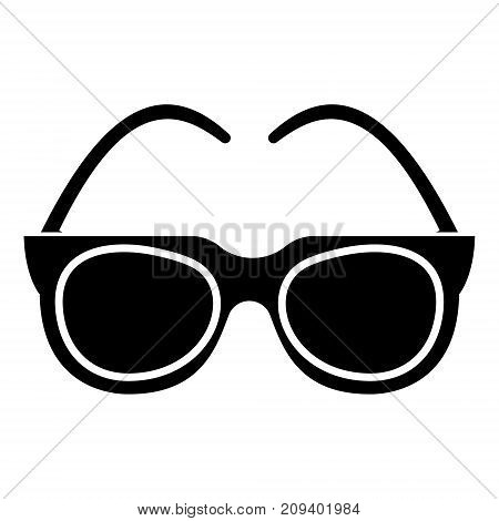 goggles - sunglasses icon, illustration, vector sign on isolated background