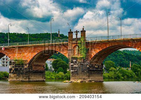 The Roman bridge in Trier is the oldest bridge in Germany