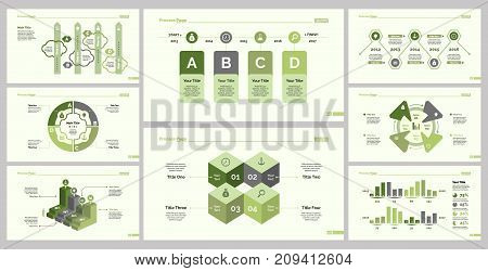 Career design set can be used for workflow layout, web design, annual report. Employment concept with step and options graph, timing and dates diagram, parts and bars charts, percentage diagram