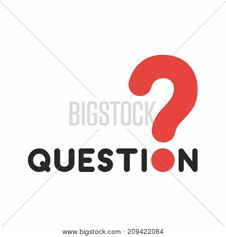 Flat Design Style Vector Concept Of Question With Question Mark