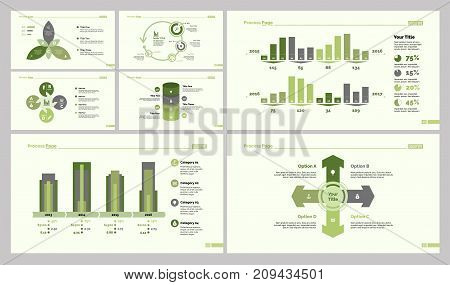 Business resources design set can be used for workflow layout, web design, annual report. Marketing concept with organizational chart, percentage, timing and dates graph, options diagram